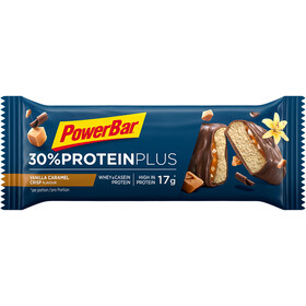 PowerBar ProteinPlus 30% Bar Box 15x55g Karamell Vanille Crisp
